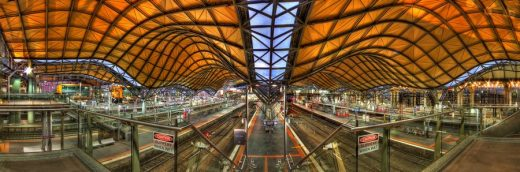 Southern Cross Railway Station building