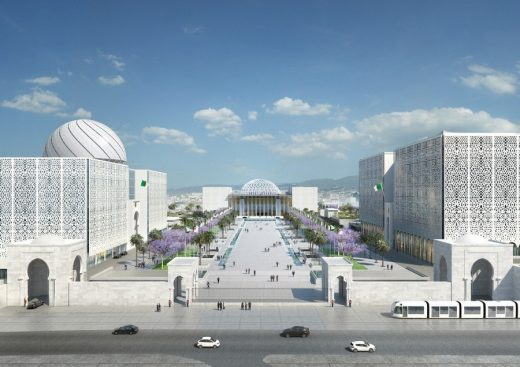 New Algerian Parliament Building