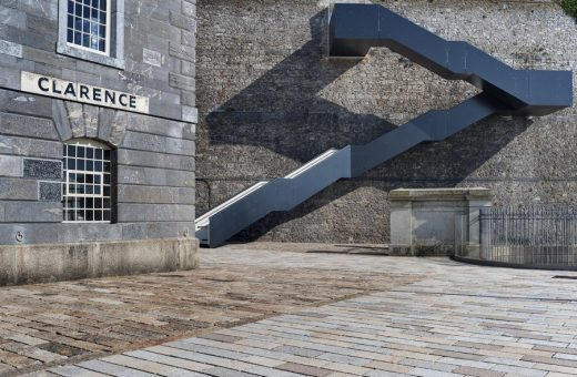 Royal William Yard Staircase in Plymouth