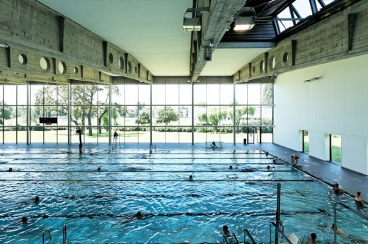 kibitzenau swimming pool in strasbourg e architect