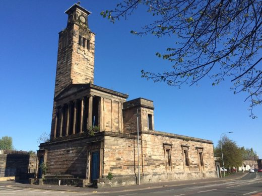 Caledonia Road Church designed by architect Greek Thomson
