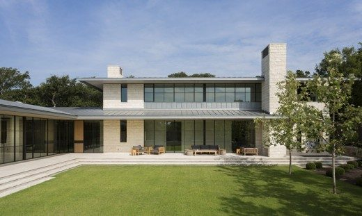 Courtyard House in Austin, Texas