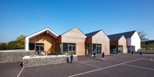 Kirkmichael Primary School Ayrshire building