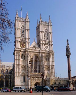 Westminster Abbey in London Continental architecture influence in England