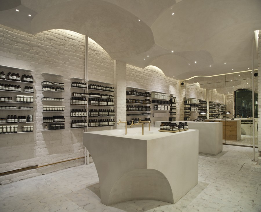 Aesop Store Shop Interior Oslo E Architect