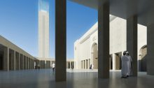 Marseille Grand Mosque Building