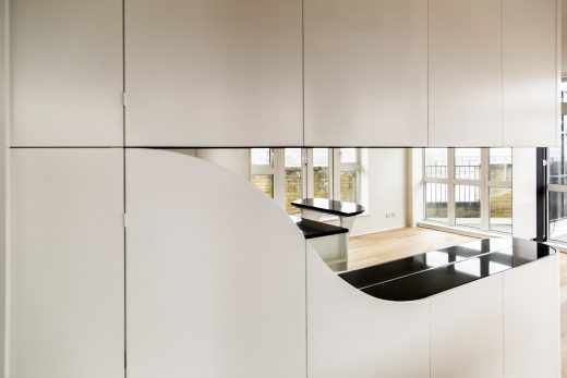 Wapping Wrap flat property  interior