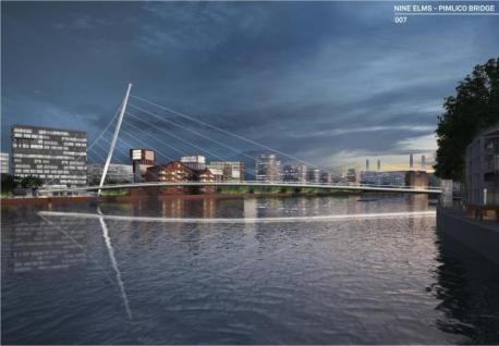 New Nine Elms and Pimlico Bridge