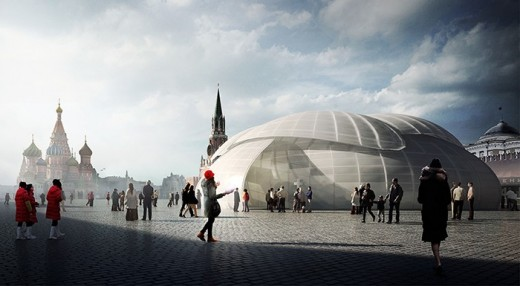 Red Square Tolerance Pavilion Competition Winners