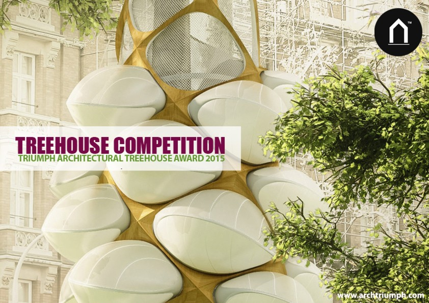 Triumph architectural treehouse award 2015 e architect for Award winning house plans 2015