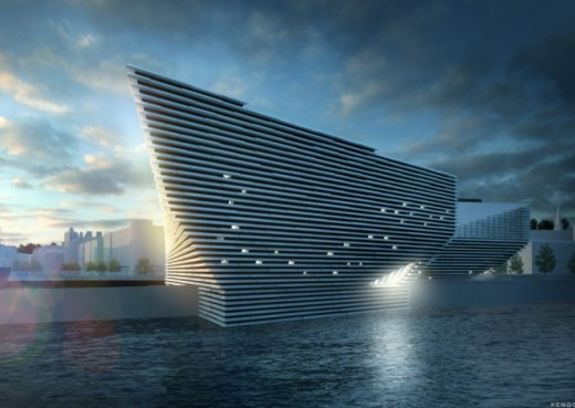 V&A at Dundee waterfront building