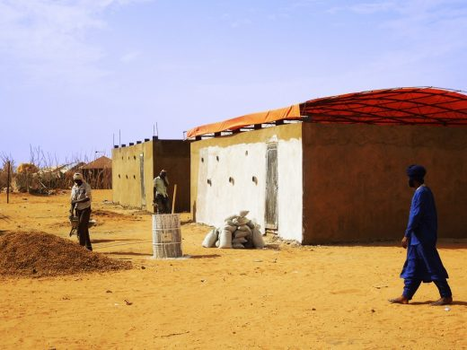 60 Sandbags Classrooms in Africa