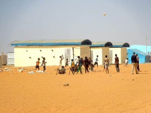 60 Sandbags Classrooms in Mauritania