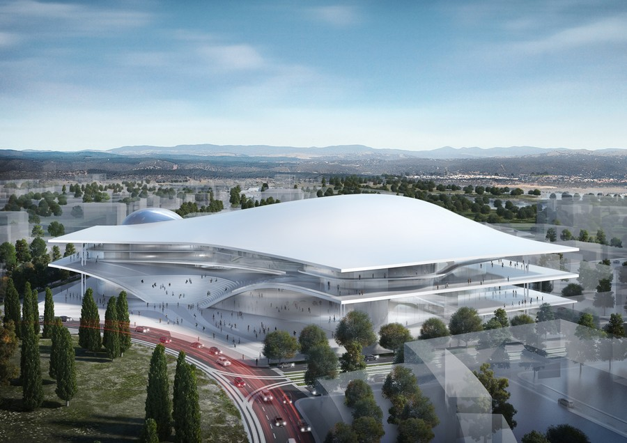 Australia forum centre in canberra e architect for New home designs canberra