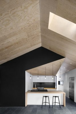 Contemporary Canadian residence design by Naturehumaine architects