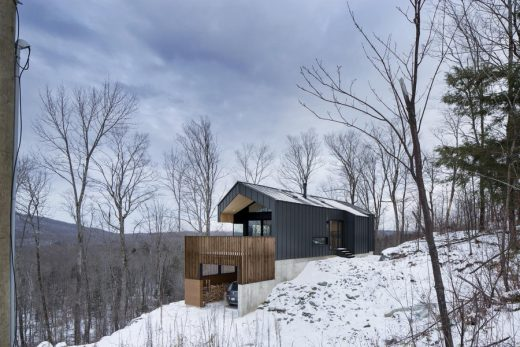 New Canadian property design by Naturehumaine architects