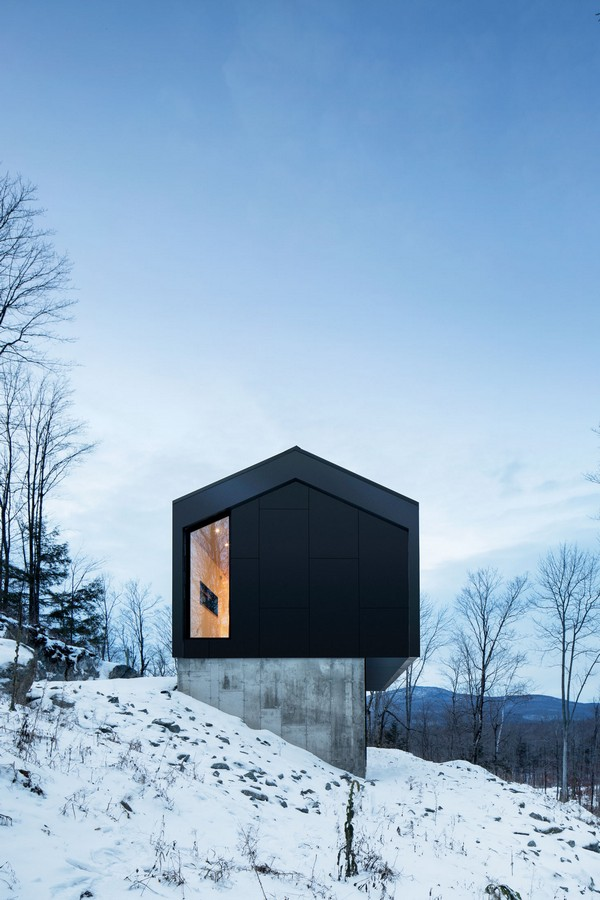 Bolton residence in quebec e architect for Architecture quebec