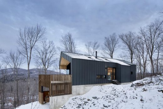 New Canadian house design by Naturehumaine architects