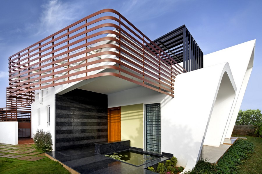 courtyard house bangalore e architect