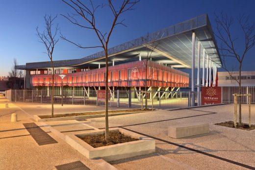 Leonard de vinci high school in montpellier architecture - Lycee leonard de vinci montpellier ...