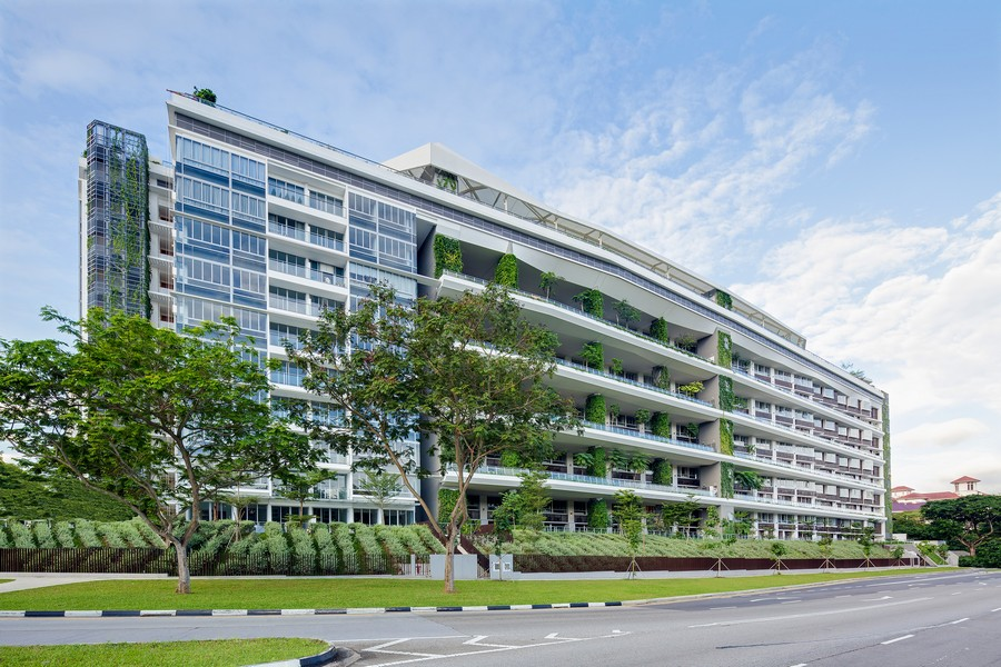 Ridgewood condominium singapore e architect for Architecture jardin