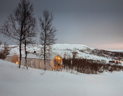 Holiday Home in Norway design by Reiulf Ramstad Architects