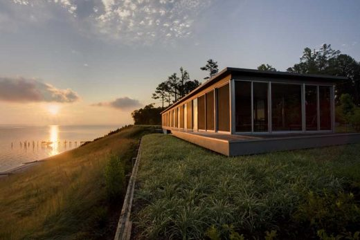 River House in Jamaica Virginia by Ziger/Snead Architects