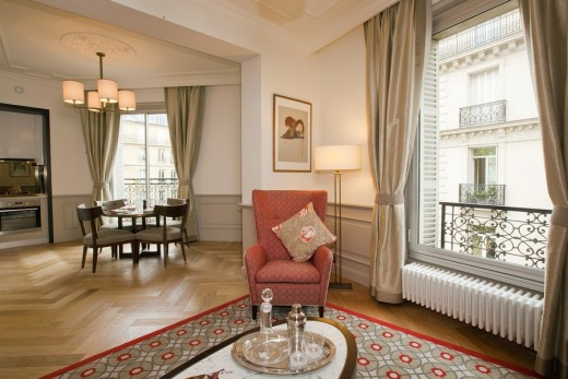 Citadines Suites Arc De Triomphe by BuckleyGrayYeoman Architects