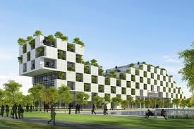 FPT Technology Building by Vo Trong Nghia Architects