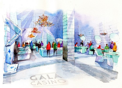 Ice Casino interior