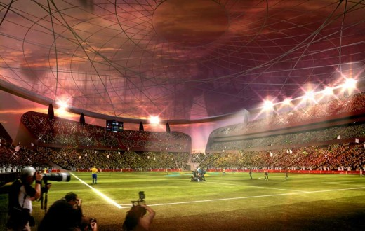 Lusail Iconic Stadium Qatar 2022 Venue