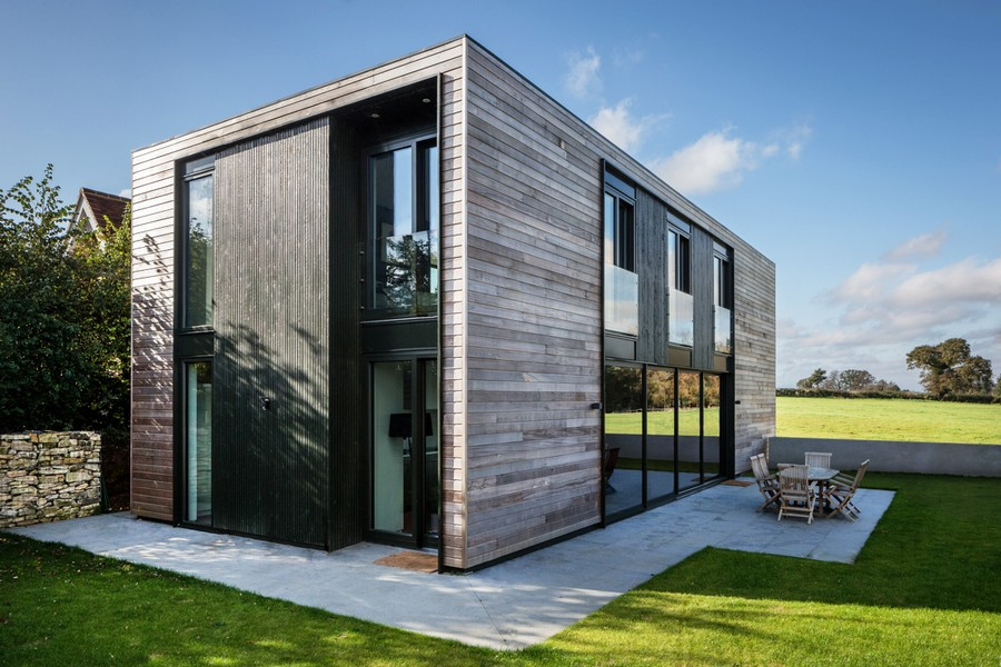 Sandpath house in oxfordshire e architect for Transportables haus