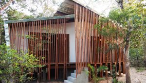 Tmat Boey Eco-lodges Cambodia building