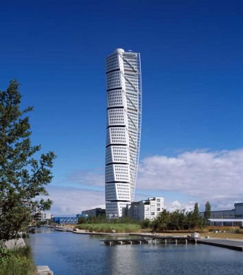 Turning Torso Tower Malmö Architecture Walking Tours