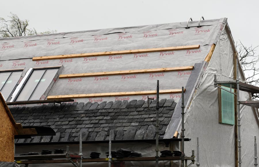 Dupont tyvek breather membranes e architect - Aerateur a membrane ...