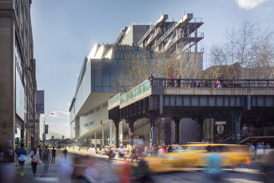 Whitney Museum of American Art New Building - e-architect
