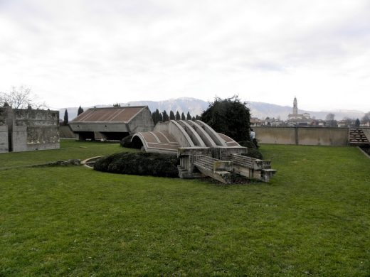 Brion Cemetery Italy by architect Carlo Scarpa