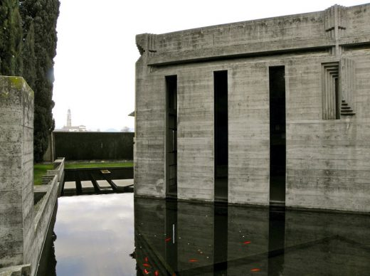 Brion Cemetery Italy by Carlo Scarpa