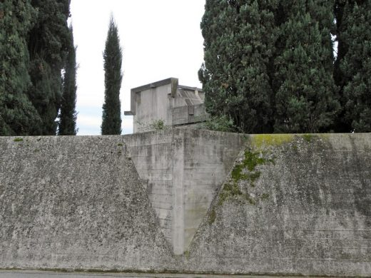 Brion Cemetery in Italy