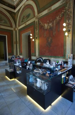 Cafe and Bookshop for Teatro Massimo in Palermo