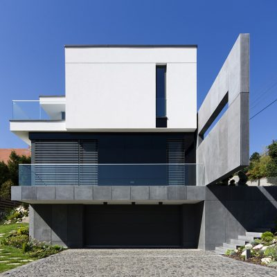 Floating Blocks House in Budapest - Hungary Architecture News