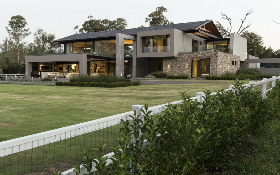 House in Blair Atholl Johannesburg e architect