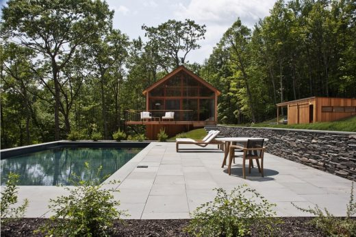 Hudson Woods House in Catskills Forest