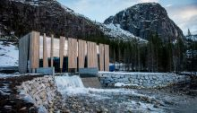 Hydroelectricity Visitors Centre in Norway