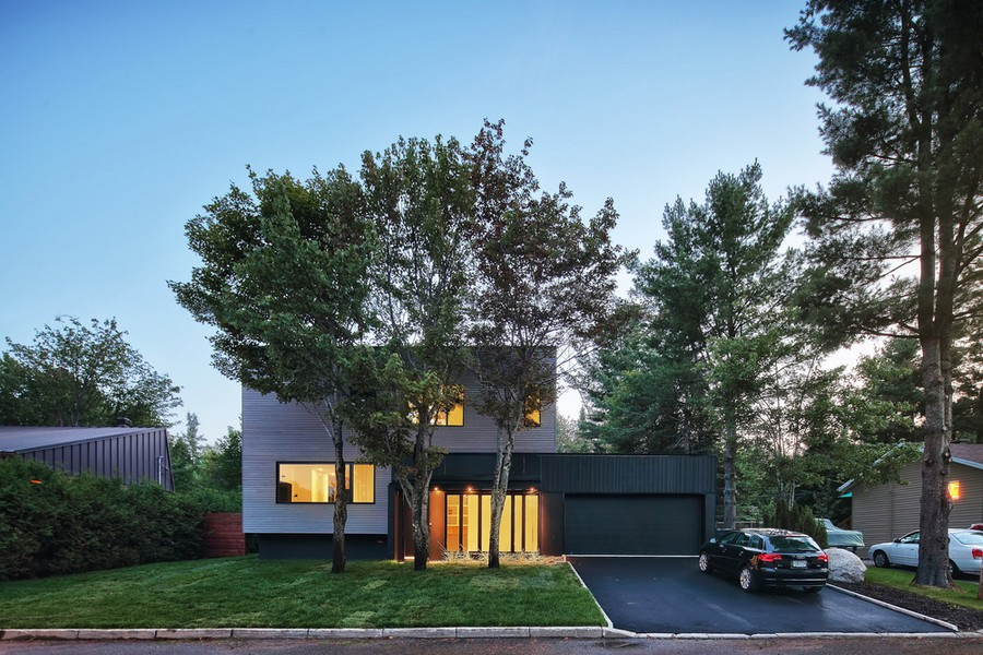 Lausanne House In Quebec E Architect