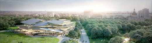 Liget Budapest Cultural Centre by SANAA