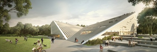 Liget Budapest Cultural Centre by Snøhetta