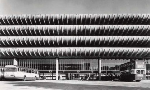 Preston Bus Station in the past