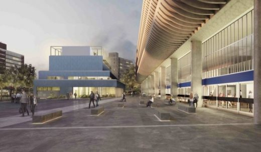 Preston Bus Station building design