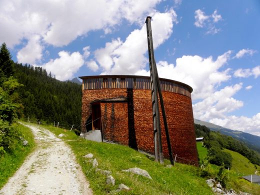 St Benedikt Chapel Building Switzerland